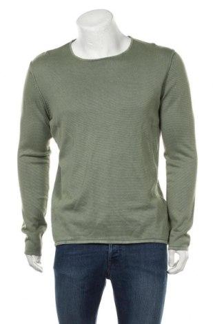 Мъжка блуза Tom Tailor, Размер L, Цвят Зелен, Памук, Цена 39,90лв.
