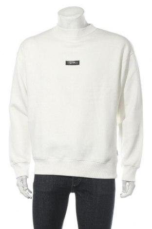 Мъжка блуза Topman, Размер M, Цвят Бял, 70% памук, 30% полиестер, Цена 25,96лв.