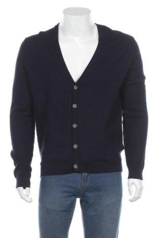 Мъжка жилетка Montego, Размер L, Цвят Син, 100% памук, Цена 16,80лв.
