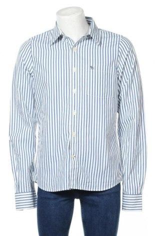 Мъжка риза Abercrombie & Fitch, Размер XL, Цвят Син, 100% памук, Цена 33,60лв.
