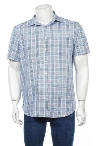 Мъжка риза Angelo Litrico, Размер M, Цвят Многоцветен, 65% полиестер, 35% памук, Цена 17,85лв.