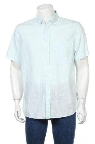Мъжка риза Angelo Litrico, Размер XL, Цвят Зелен, Памук, Цена 18,90лв.