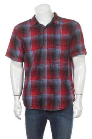 Мъжка риза Angelo Litrico, Размер XL, Цвят Червен, Памук, Цена 16,96лв.