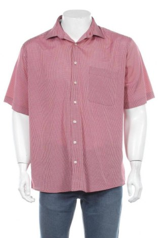 Мъжка риза Barisal, Размер L, Цвят Червен, 80% полиестер, 20% памук, Цена 17,85лв.