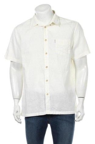Мъжка риза Ben Sherman, Размер XXL, Цвят Бял, 55% лен, 45% памук, Цена 25,20лв.