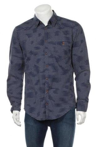 Мъжка риза Boss Orange, Размер L, Цвят Син, Цена 31,61лв.