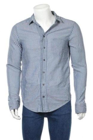 Мъжка риза Boss Orange, Размер M, Цвят Син, Памук, Цена 58,70лв.