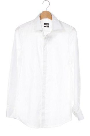 Мъжка риза Bruno Banani, Размер XS, Цвят Бял, 97% памук, 3% еластан, Цена 46,50лв.