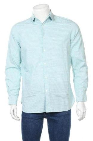 Ανδρικό πουκάμισο Charles Vogele, Μέγεθος M, Χρώμα Πράσινο, Τιμή 9,29€