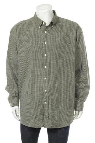 Мъжка риза Dockers, Размер XL, Цвят Зелен, 60% памук, 40% полиестер, Цена 19,64лв.