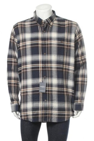 Мъжка риза Dressmann, Размер XXL, Цвят Многоцветен, Памук, Цена 5,29лв.