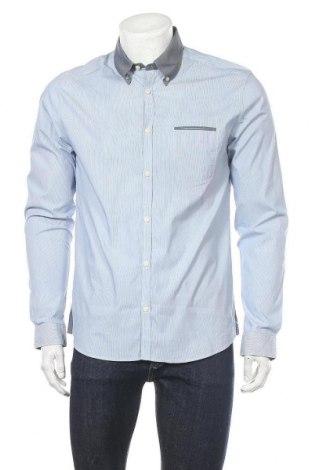 Мъжка риза Drykorn for beautiful people, Размер L, Цвят Син, Цена 30,24лв.