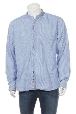 Мъжка риза Ellos, Размер XL, Цвят Син, Памук, Цена 17,85лв.