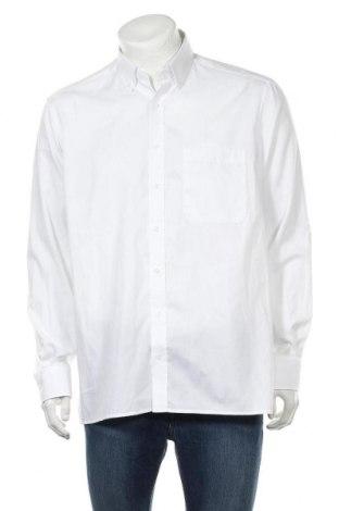 Мъжка риза Eterna, Размер L, Цвят Бял, Памук, Цена 55,50лв.