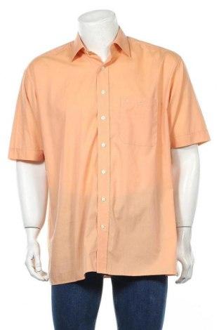 Мъжка риза Eterna, Размер XL, Цвят Оранжев, 100% памук, Цена 5,36лв.