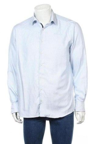 Мъжка риза Eterna, Размер L, Цвят Син, Памук, Цена 15,96лв.