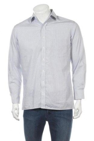 Мъжка риза Eterna, Размер M, Цвят Син, Памук, Цена 16,96лв.