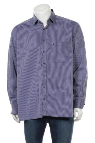 Мъжка риза Eterna, Размер XL, Цвят Син, Памук, Цена 17,01лв.
