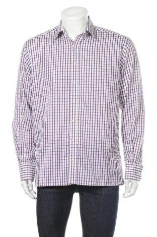 Мъжка риза Eterna, Размер L, Цвят Бял, Памук, Цена 17,01лв.