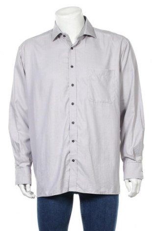 Мъжка риза Eterna, Размер XL, Цвят Сив, Цена 12,97лв.