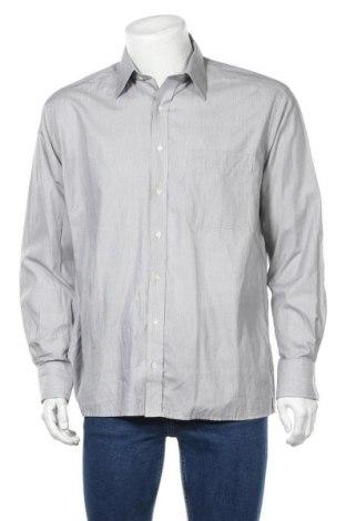 Мъжка риза Eterna, Размер L, Цвят Сив, Памук, Цена 3,73лв.