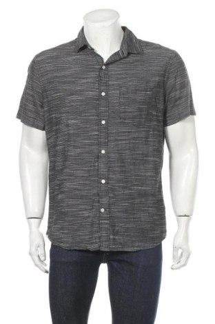 Мъжка риза Express, Размер L, Цвят Сив, Памук, Цена 15,12лв.