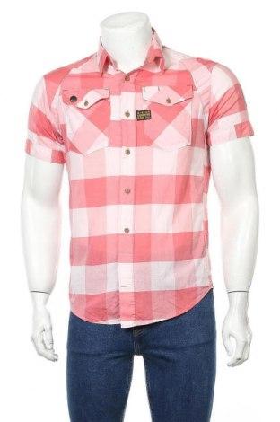 Мъжка риза G-Star Raw, Размер M, Цвят Червен, 100% памук, Цена 33,00лв.