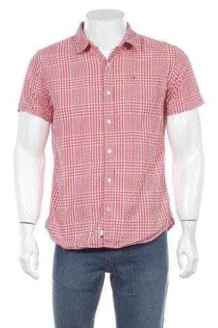 Мъжка риза Hilfiger Denim, Размер L, Цвят Червен, Памук, Цена 16,80лв.