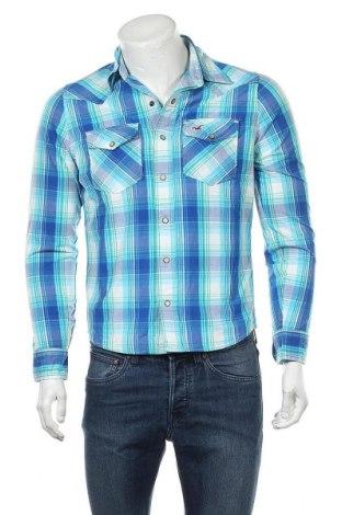 Ανδρικό πουκάμισο Hollister, Μέγεθος S, Χρώμα Μπλέ, Βαμβάκι, Τιμή 6,07€