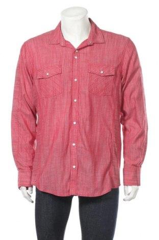 Мъжка риза INC International Concepts, Размер L, Цвят Червен, Памук, Цена 15,70лв.