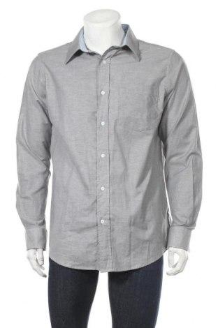 Мъжка риза Infinity, Размер L, Цвят Сив, 60% памук, 40% полиестер, Цена 18,95лв.
