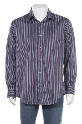 Мъжка риза Kenneth Cole, Размер L, Цвят Многоцветен, Памук, Цена 18,90лв.