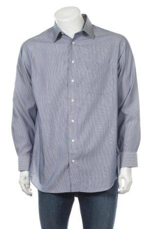 Мъжка риза Kenneth Cole, Размер L, Цвят Син, Памук, Цена 13,23лв.