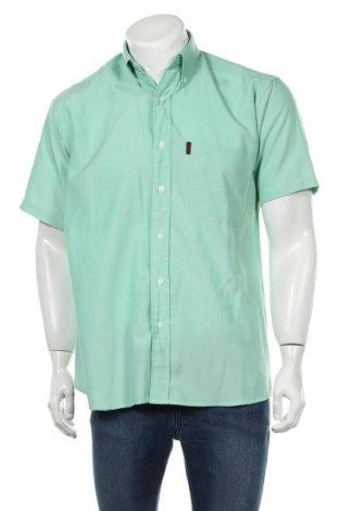 Мъжка риза Lee Cooper, Размер S, Цвят Зелен, 80% полиестер, 20% вискоза, Цена 18,00лв.