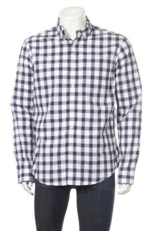 Мъжка риза Merona, Размер L, Цвят Бял, Памук, Цена 16,07лв.