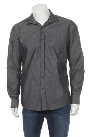 Ανδρικό πουκάμισο Mexx, Μέγεθος L, Χρώμα Γκρί, Βαμβάκι, Τιμή 11,59€