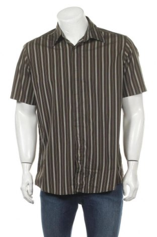 Ανδρικό πουκάμισο Mexx, Μέγεθος XXL, Χρώμα Καφέ, 60% βαμβάκι, 35% πολυαμίδη, 5% ελαστάνη, Τιμή 7,73€
