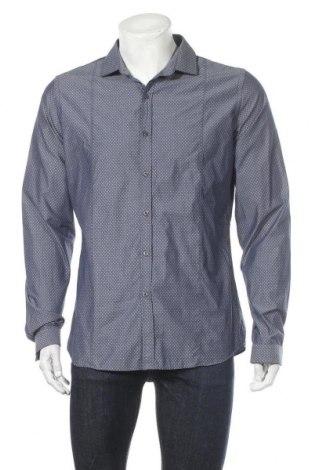 Мъжка риза Pierre Cardin, Размер XL, Цвят Син, Памук, Цена 10,71лв.
