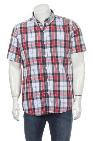 Ανδρικό πουκάμισο Skill, Μέγεθος L, Χρώμα Πολύχρωμο, 60% πολυεστέρας, 40% βαμβάκι, Τιμή 4,77€