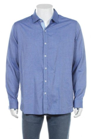 Мъжка риза Tahari, Размер XL, Цвят Син, Памук, Цена 11,76лв.