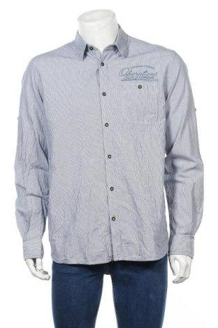 Мъжка риза Tom Tailor, Размер L, Цвят Син, Памук, Цена 24,15лв.