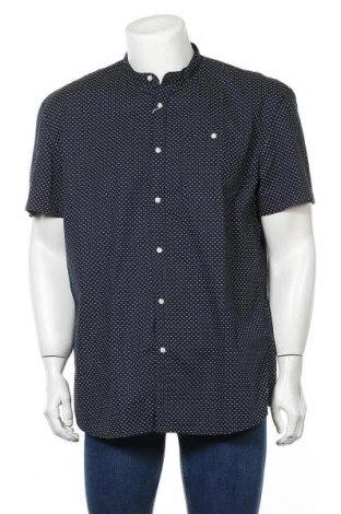 Мъжка риза Tom Tailor, Размер XXL, Цвят Син, 98% памук, 2% еластан, Цена 36,75лв.