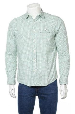 Мъжка риза Tom Tailor, Размер M, Цвят Зелен, Цена 27,30лв.