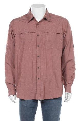 Мъжка риза Wrangler, Размер L, Цвят Кафяв, 68% полиестер, 32% полиамид, Цена 24,15лв.