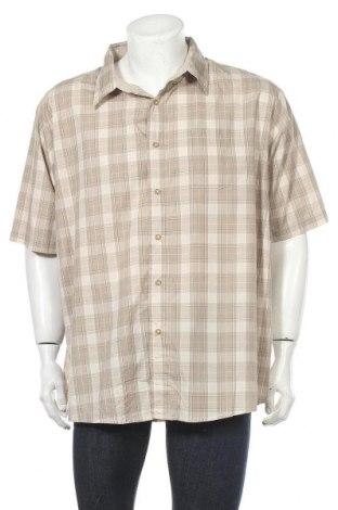Мъжка риза Wrangler, Размер XXL, Цвят Бежов, 60% памук, 40% полиестер, Цена 21,42лв.