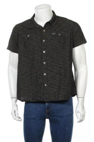 Мъжка риза Wrangler, Размер L, Цвят Зелен, Цена 16,96лв.