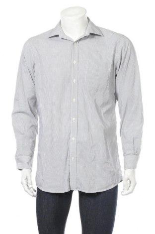Мъжка риза Yorn, Размер M, Цвят Сив, Цена 17,85лв.