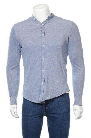 Мъжка риза Zara Man, Размер M, Цвят Син, 100% памук, Цена 21,00лв.