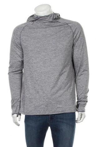 Мъжка спортна блуза Active By Tchibo, Размер M, Цвят Сив, 88% полиестер, 12% еластан, Цена 17,33лв.