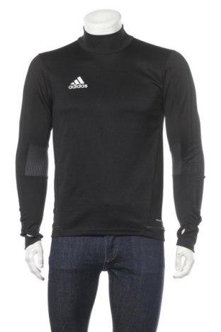 Мъжка спортна блуза Adidas, Размер S, Цвят Черен, Полиестер, Цена 21,37лв.